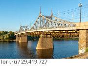 Купить «Тверь, Староволжский мост», эксклюзивное фото № 29419727, снято 19 сентября 2018 г. (c) Alexei Tavix / Фотобанк Лори