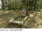 Купить «Ämari Lennubaas Sovietic Air Force cemetery. Ämari. Estonia.», фото № 29424695, снято 21 ноября 2018 г. (c) age Fotostock / Фотобанк Лори