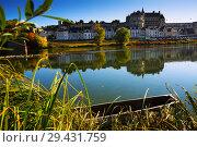 Купить «View of medieval castle Chateau in Amboise», фото № 29431759, снято 8 октября 2018 г. (c) Яков Филимонов / Фотобанк Лори