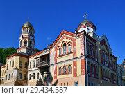 Купить «Orthodox Monastery in New Athos in Abkhazia», фото № 29434587, снято 3 июня 2018 г. (c) Володина Ольга / Фотобанк Лори