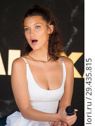 Купить «Alexander Wang hosts a press conference for Magnum ice cream with a special guest Bella Hadid. Featuring: Bella Hadid Where: Cannes, France When: 10 May 2018 Credit: Euan Cherry/WENN.», фото № 29435815, снято 10 мая 2018 г. (c) age Fotostock / Фотобанк Лори