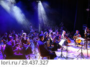 "Купить «Концерт оркестра ""Другой оркестр""», фото № 29437327, снято 3 ноября 2018 г. (c) Евгений Ткачёв / Фотобанк Лори"