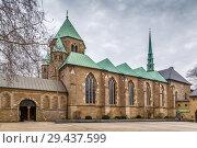 Essen Minster, Germany (2018 год). Стоковое фото, фотограф Boris Breytman / Фотобанк Лори