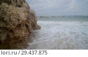 Купить «small storm off coast of island of Cyprus in Ayia Napa», видеоролик № 29437875, снято 4 ноября 2018 г. (c) Володина Ольга / Фотобанк Лори