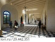 Купить «Interiors of Chateau de Chenonceau, France», фото № 29442351, снято 8 октября 2018 г. (c) Яков Филимонов / Фотобанк Лори
