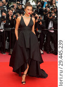 Купить «Celebrities attend the premiere for 'Yomeddine' at the Palais de Festival in Cannes, France. Featuring: Irina Shayk Where: Cannes, France When: 08 May 2018 Credit: Euan Cherry/WENN.», фото № 29445239, снято 8 мая 2018 г. (c) age Fotostock / Фотобанк Лори