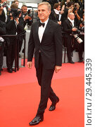 Купить «71st annual Cannes Film Festival - Yomeddine - Premiere Featuring: Christoph Waltz Where: Cannes, France When: 09 May 2018 Credit: Euan Cherry/WENN.», фото № 29445339, снято 9 мая 2018 г. (c) age Fotostock / Фотобанк Лори