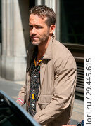 Купить «Ryan Reynolds leaving Bauer Radio Studios after promoting his new film 'Deadpool 2' in London Featuring: Ryan Reynolds Where: London, United Kingdom When: 09 May 2018 Credit: WENN.com», фото № 29445615, снято 9 мая 2018 г. (c) age Fotostock / Фотобанк Лори