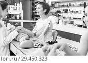 Купить «Manicure masters working», фото № 29450323, снято 28 апреля 2017 г. (c) Яков Филимонов / Фотобанк Лори