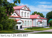 """Country manor house of 18th century. State Historical, Artistic and Literary Museum-Reserve """"Abramtsevo"""" (2018 год). Редакционное фото, фотограф Papoyan Irina / Фотобанк Лори"""