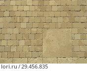 Купить «Background of brick wall or road texture. Vector», иллюстрация № 29456835 (c) Dmitry Domashenko / Фотобанк Лори
