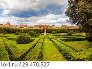 Купить «Italy, Tuscany region, San Quirico d'Orcia. Famous Italian garden of Horti Leonini», фото № 29470527, снято 14 мая 2014 г. (c) Наталья Волкова / Фотобанк Лори