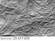 Купить «Paper texture background, crumpled paper texture background. Paper textures», фото № 29477695, снято 13 августа 2018 г. (c) Евгений Глазунов / Фотобанк Лори