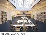 Купить «modern office», фото № 29477779, снято 27 мая 2019 г. (c) Виктор Застольский / Фотобанк Лори