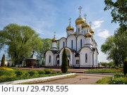 Купить «St. Nicholas Monastery, Cathedral of St. Nicholas in Pereslavl-Zalessky, Russia», фото № 29478595, снято 18 мая 2018 г. (c) Юлия Бабкина / Фотобанк Лори