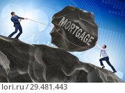 Купить «Business concept of debt and borrowing», фото № 29481443, снято 15 декабря 2018 г. (c) Elnur / Фотобанк Лори