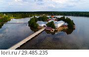 Купить «The Holy-Vvedensky nunnery in the Vladimir region», фото № 29485235, снято 24 июня 2018 г. (c) Александр Клёнов / Фотобанк Лори