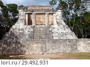 Купить «Maya archeological site of Chichen Itza in Yucatan, Mexico», фото № 29492931, снято 1 февраля 2010 г. (c) Куликов Константин / Фотобанк Лори