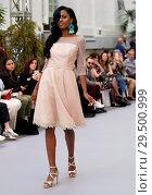 Купить «Madrid Bridal Week 2018 - Raffaelo - Catwalk Featuring: Model Where: Madrid, Spain When: 19 Apr 2018 Credit: Oscar Gonzalez/WENN.com», фото № 29500999, снято 19 апреля 2018 г. (c) age Fotostock / Фотобанк Лори