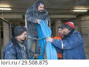 Обучение рабочих (2018 год). Редакционное фото, фотограф Владимир Судник / Фотобанк Лори