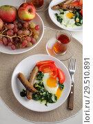 Купить «Turkish breakfast», фото № 29510891, снято 29 октября 2018 г. (c) Stockphoto / Фотобанк Лори