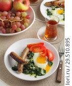 Купить «Turkish breakfast», фото № 29510895, снято 29 октября 2018 г. (c) Stockphoto / Фотобанк Лори