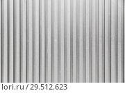Купить «grey ribbed background», фото № 29512623, снято 10 февраля 2018 г. (c) Syda Productions / Фотобанк Лори
