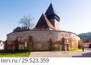 Купить «Image of Church Fortification in Axente Sever», фото № 29523359, снято 17 сентября 2017 г. (c) Яков Филимонов / Фотобанк Лори
