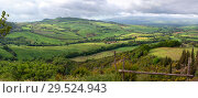 Купить «Tuscany panorama landscape in Italy», фото № 29524943, снято 7 мая 2017 г. (c) Михаил Коханчиков / Фотобанк Лори