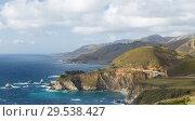 Купить «beautiful view of big sur coast in california», фото № 29538427, снято 27 февраля 2018 г. (c) Syda Productions / Фотобанк Лори