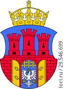 Купить «Герб города Краков. Польша», иллюстрация № 29546699 (c) Владимир Макеев / Фотобанк Лори