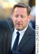 Купить «Ed Vaizey MP (Con: Wantage) being interviewed on College Green, Westminster, November 2018.», фото № 29549527, снято 14 ноября 2018 г. (c) age Fotostock / Фотобанк Лори