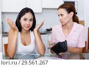 Купить «Girl trying ask money», фото № 29561267, снято 9 июля 2018 г. (c) Яков Филимонов / Фотобанк Лори