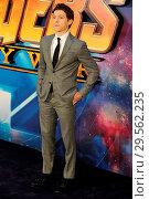 Купить «UK Fan Event for 'Avengers: Infinity War' at Television Centre White City in London. Featuring: Tom Holland Where: London, United Kingdom When: 08 Apr 2018 Credit: WENN.com», фото № 29562235, снято 8 апреля 2018 г. (c) age Fotostock / Фотобанк Лори