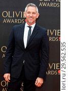 Купить «Olivier Awards 2018 at the Royal Albert Hall, London Featuring: Gary Lineker Where: London, United Kingdom When: 08 Apr 2018 Credit: WENN.com», фото № 29562535, снято 8 апреля 2018 г. (c) age Fotostock / Фотобанк Лори