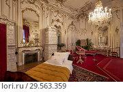 Купить «Kaiserappartements Hofburg Imperial Palace Sissi. Vienna Austria.», фото № 29563359, снято 5 ноября 2018 г. (c) age Fotostock / Фотобанк Лори