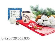 Купить «New Year and Christmas composition», фото № 29563835, снято 11 декабря 2018 г. (c) Татьяна Ляпи / Фотобанк Лори