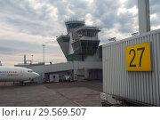 Купить «Helsinki, Finland, Boeing 737 Jet Time passenger aircraft at Vantaa airport», фото № 29569507, снято 4 июня 2018 г. (c) Caro Photoagency / Фотобанк Лори