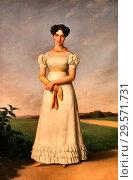 Купить «Bodinier Guillaume - Portrait De Jeanne Virginie Morel Future Baronne Duverger.», фото № 29571731, снято 25 марта 2019 г. (c) age Fotostock / Фотобанк Лори