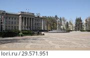 Купить «Законодательное собрание Краснодарского края», видеоролик № 29571951, снято 10 апреля 2018 г. (c) Олег Хархан / Фотобанк Лори