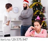 Купить «Parents arguing at Christmas», фото № 29575947, снято 22 марта 2019 г. (c) Яков Филимонов / Фотобанк Лори