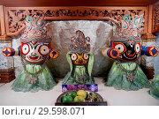 Купить «Sri Thenday Yutthapani Temple. Lord Jagannath's (Krishna) form. Ho Chi Minh City. Vietnam.», фото № 29598071, снято 5 июля 2020 г. (c) age Fotostock / Фотобанк Лори