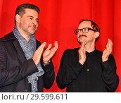 Rick Kavanian, Milan Peschel at the world premiere Jim Knopf und ... (2018 год). Редакционное фото, фотограф AEDT / WENN.com / age Fotostock / Фотобанк Лори