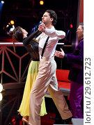 Купить «German RTL Live TV Show 'Let's Dance' at MMC Studios in Ossendorf. Featuring: Jimi Blue Ochsenknecht, Renata Lusin Where: Cologne, Germany When: 16 Mar 2018 Credit: WENN.com», фото № 29612723, снято 16 марта 2018 г. (c) age Fotostock / Фотобанк Лори