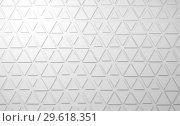 Купить «Abstract white digital background with triangles relief 3d», иллюстрация № 29618351 (c) EugeneSergeev / Фотобанк Лори