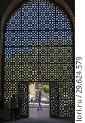 Купить «Bibi-Khanym Mosque, Samarkand, Uzbekistan.», фото № 29624579, снято 26 февраля 2020 г. (c) age Fotostock / Фотобанк Лори