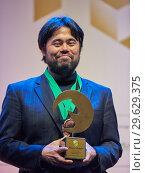 Купить «Grandmaster Hikaru Nakamura, USA on award ceremony», фото № 29629375, снято 30 декабря 2018 г. (c) Stockphoto / Фотобанк Лори