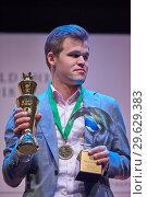 Купить «World Chess Champion Magnus Carlsen, Norway», фото № 29629383, снято 30 декабря 2018 г. (c) Stockphoto / Фотобанк Лори