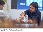 Купить «Grandmaster Hikaru Nakamura, USA in action», фото № 29629523, снято 30 декабря 2018 г. (c) Stockphoto / Фотобанк Лори