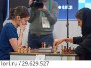 Купить «King Salman World Blitz Chess Championship 2018», фото № 29629527, снято 30 декабря 2018 г. (c) Stockphoto / Фотобанк Лори